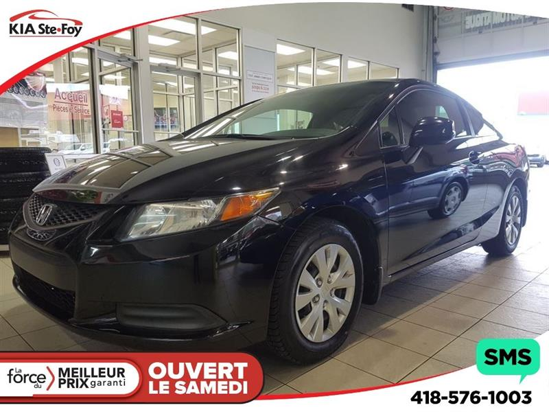 Honda Civic 2012 LX**COUPÉ**A/C**BLUETOOTH** #180003A