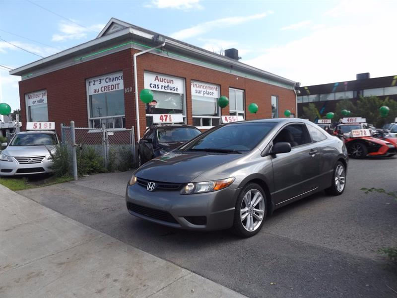 Honda Civic Cpe 2007 2dr MT DX-G #1792-06