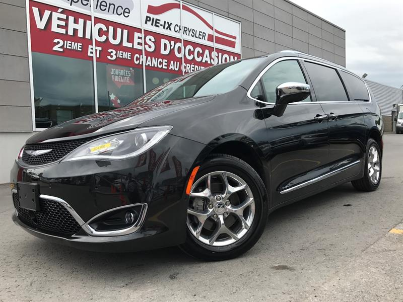 Chrysler Pacifica 2017 LIMITED+CUIR+DVD+TOIT+NAVI+MAGS+WOW! #UD4188