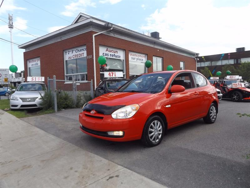 Hyundai Accent 2009 3dr HB #1789-06