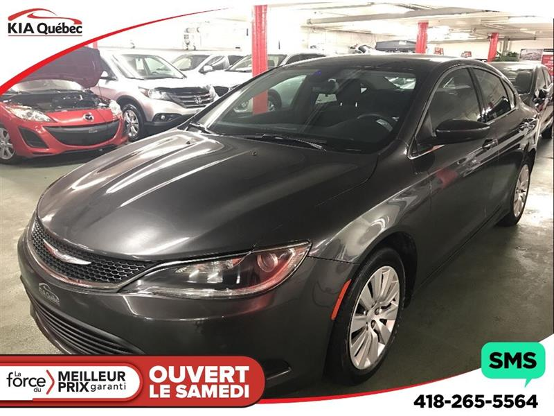 Chrysler 200 2015 LX *JAMAIS ACCIDENTÉ* #K170802A