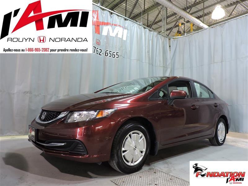 Honda Civic Sedan 2014 LX #17281A