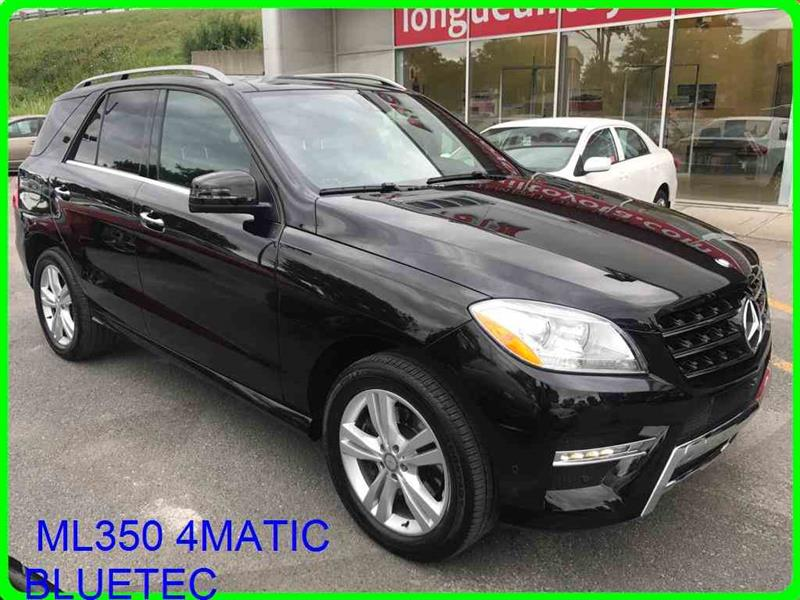 Mercedes-Benz M-Class 2015 ML350 4MATIC BLUETEC,CAMERA360,NAVI,TOIT PANO #11484A