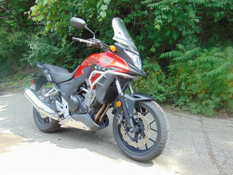 Honda CB500X 2013 adventure #ALEX BERTHIAUME