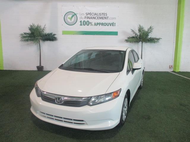 Honda Civic Sdn 2012 4dr Man LX #1738-06