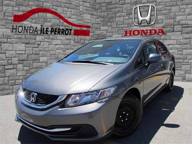 Honda Civic Sdn 2013 4dr Man LX BLUETOOTH SIEGE CHAUFFANT  #44111