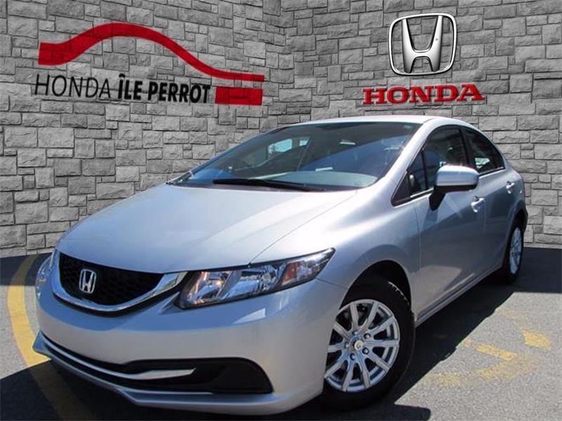 Honda Civic Sedan 2014 4dr CVT LX BLUETOOTH SIEGE CHAUFFANT  #44117