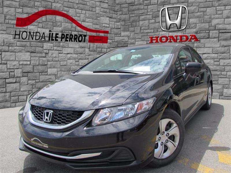 Honda Civic Sedan 2015 4dr Man LX BLUETOOTH SIEGE CHAUFFANT 8 PNEUS  #44120