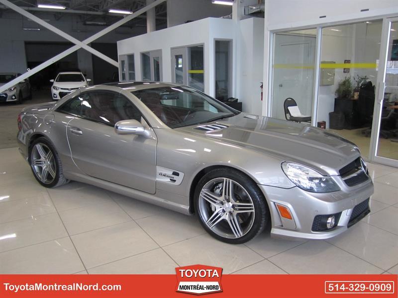 Mercedes-Benz SL63 AMG 2009 V8 6.2L #8632 A
