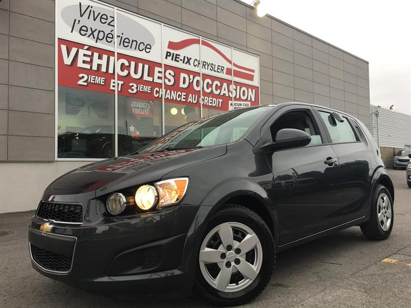 Chevrolet Sonic 2016 5dr HB LS Auto+A/C+WOW! #UD4236