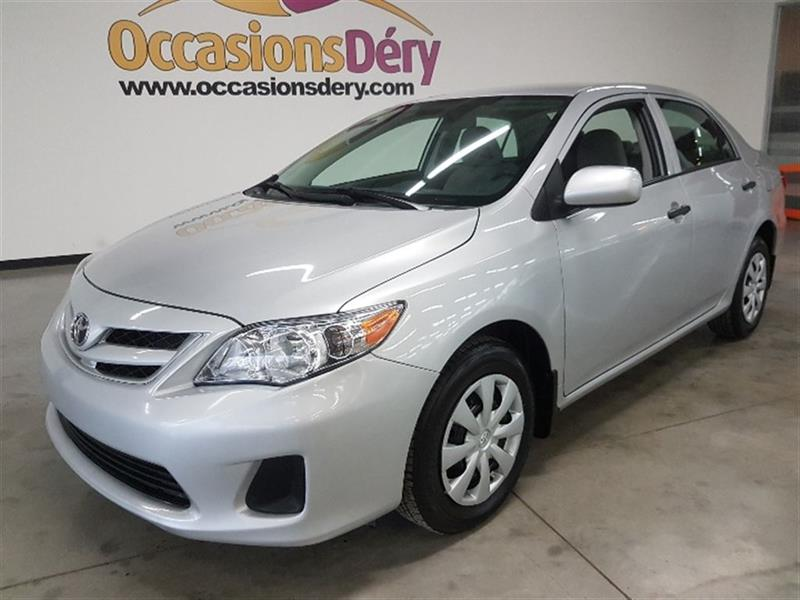Toyota Corolla 2013 GARANTIE PLAN OR JUSQU'À 120 000KM INCLUS ! #A5015