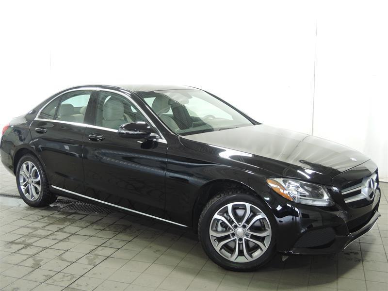 Mercedes-Benz C300 2016 4MATIC Sedan CERTIFIÉ BAS KILO #U17-224
