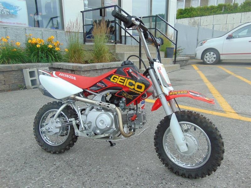 Honda CRF50F 2013 80 CC #ALEX BERTHIAUME