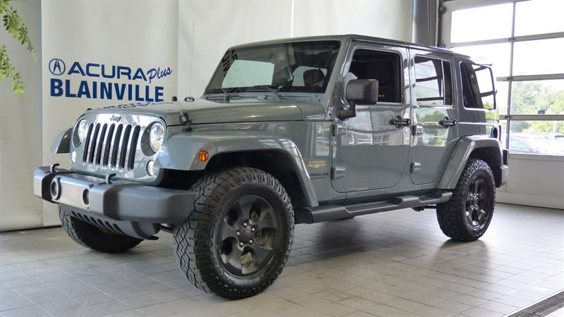 Jeep Wrangler Unlimited 2014 4WD 4dr Sahara #B77360