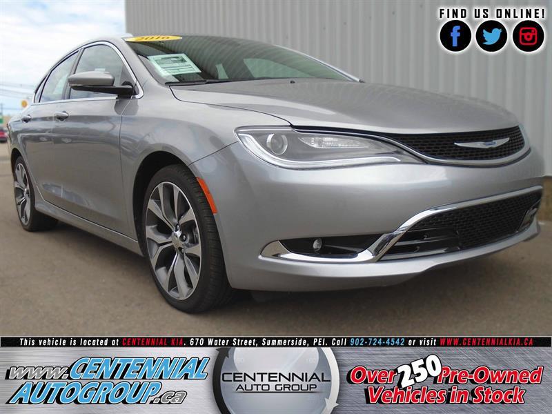 2016 Chrysler 200 C #U696A