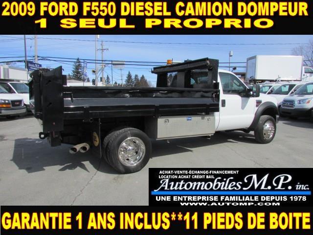 Ford Super Duty F-550 Drw 2009 CAMION DOMPEUR DIESEL GARANTIE 1 ANS  #81