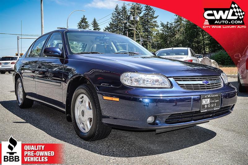 2001 Chevrolet Malibu LS - ONLY 34.300KM's #CWL7897M