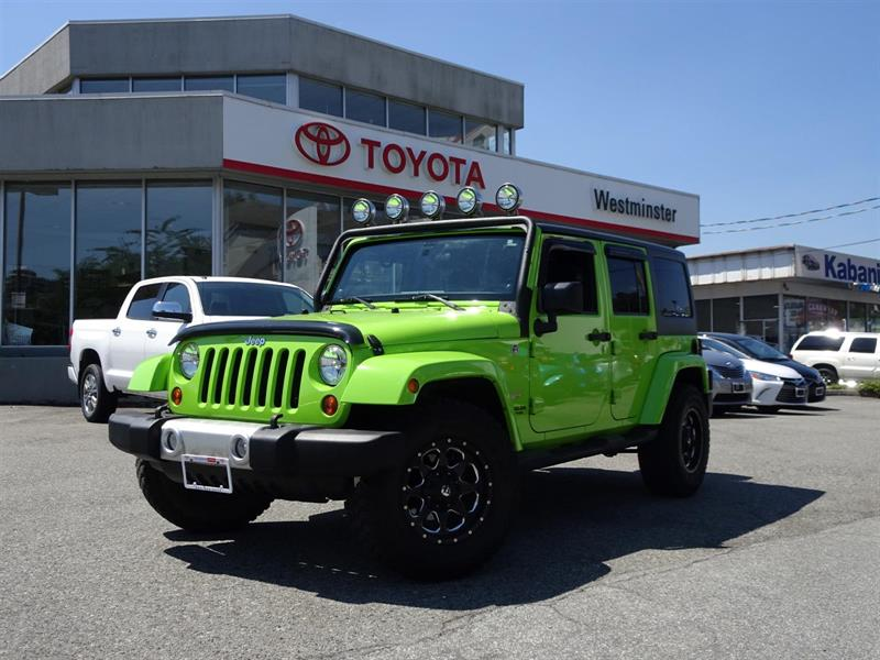 2012 Jeep Wrangler Unlimited Package #FR17800A
