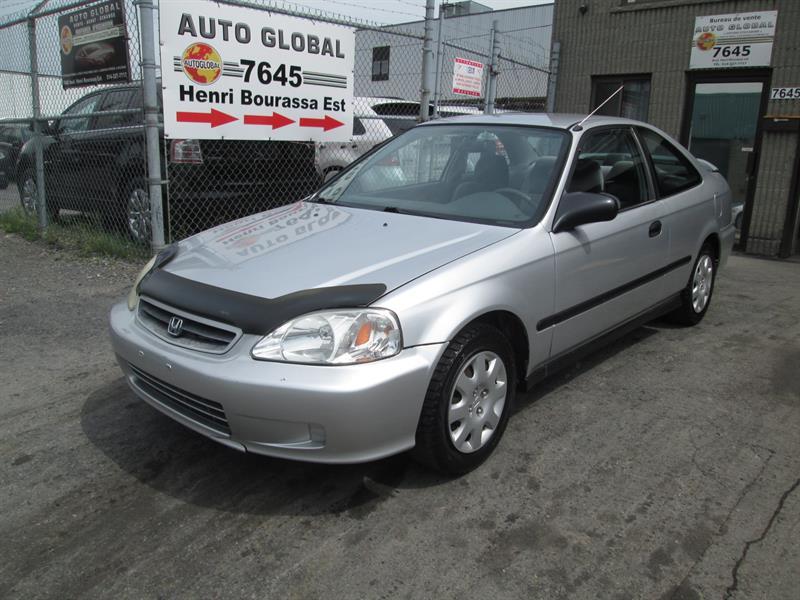 Honda Civic 1999 2dr Cpe DX-G Auto w-Air Cond-ABS #17-742