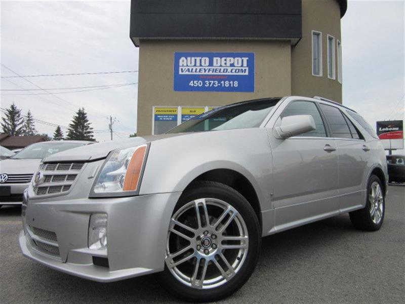 Cadillac SRX 2007 V6 AWD + TOIT PANO, CUIR, MAGS #P0704