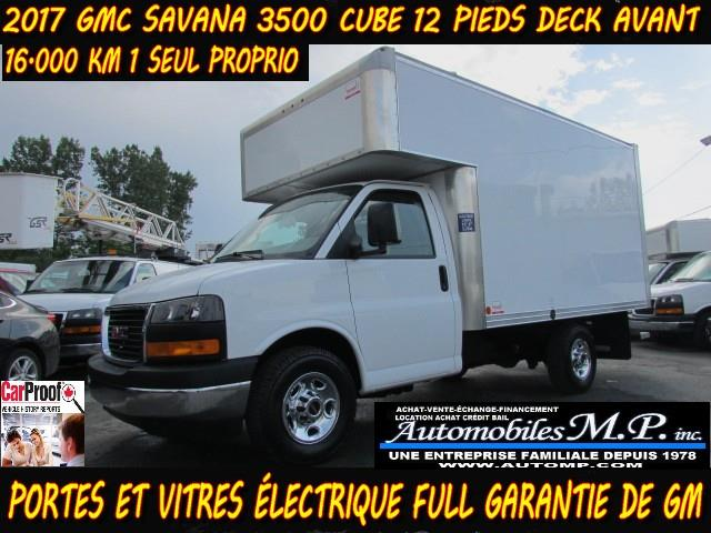 GMC Savana 3500 2017 CUBE 12 PIEDS DECK AVANT #735
