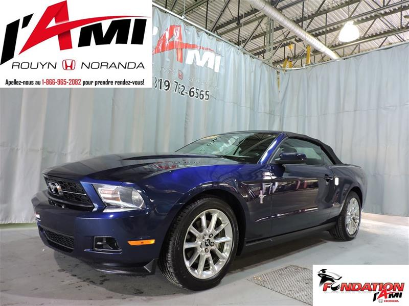Ford Mustang 2011 V6 CONVERTIBLE CUIR MAGS #16337A