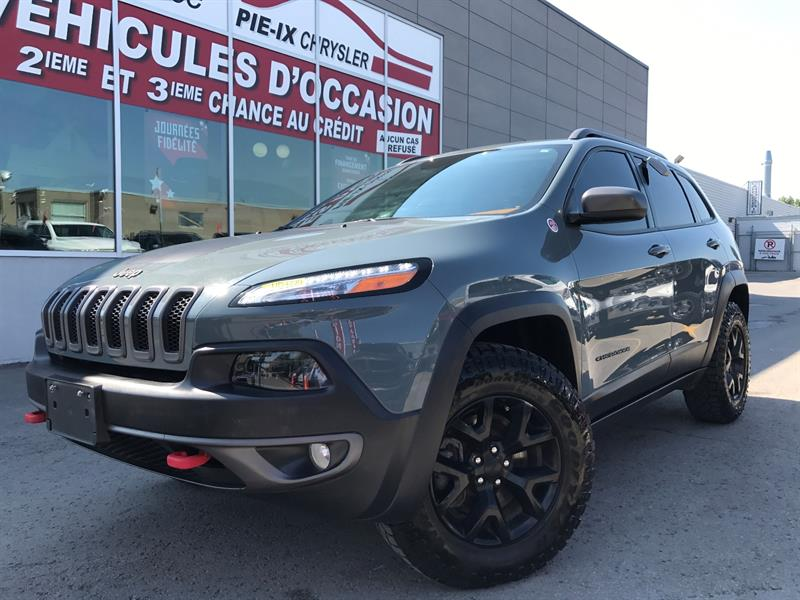 Jeep Cherokee 2015 4WD 4dr Trailhawk+V6+MAGS+NAVIGATION+WOW! #ud4239
