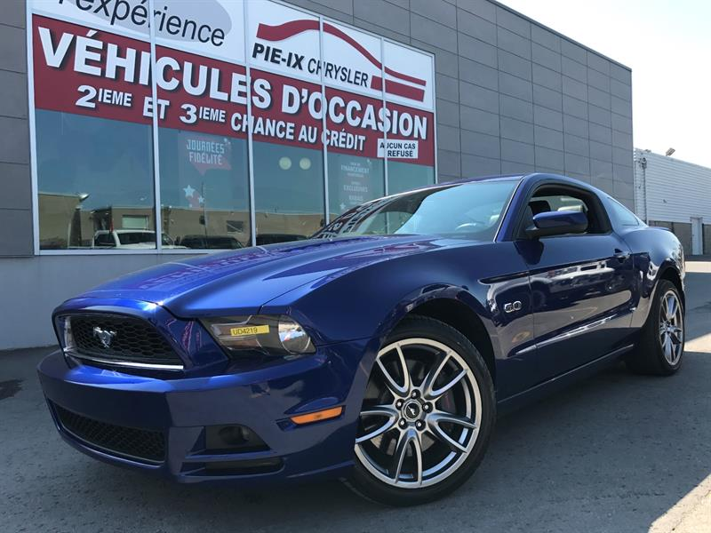 Ford Mustang 2013 2dr Cpe GT+CUIR+MAGS+A/C+GR.ELEC+WOW! #UD4219