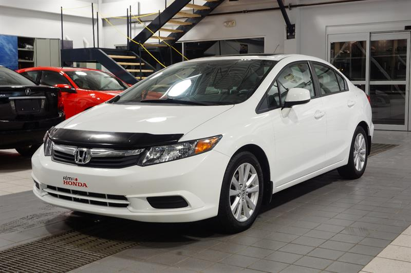 Honda Civic Sdn 2012 EX Sedan #A3039