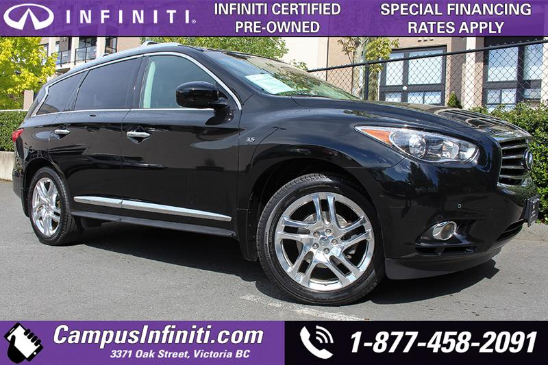 2015 Infiniti Qx60 Premium Pkg w/BACKUP CAM & LEATHER  #B0586