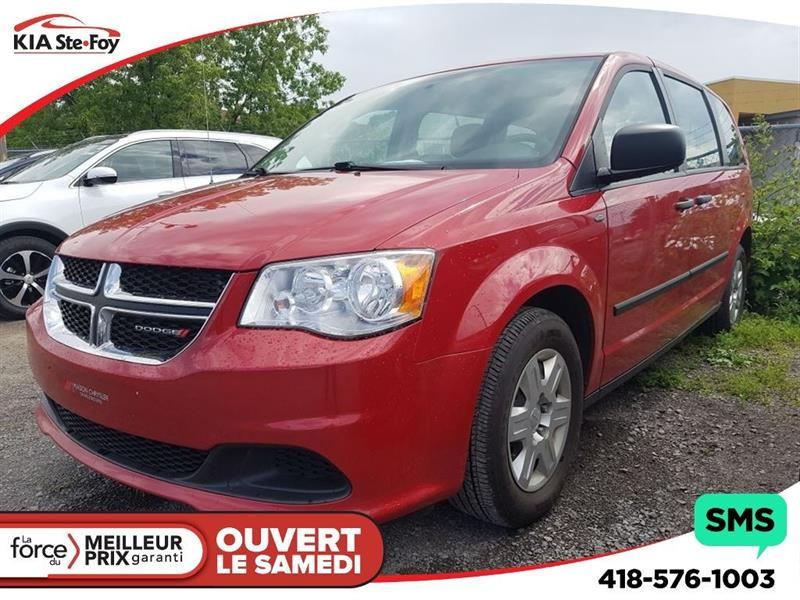 Dodge Grand Caravan 2013 SE* 7 PASSAGERS* CRUISE CONTROL * #170838A
