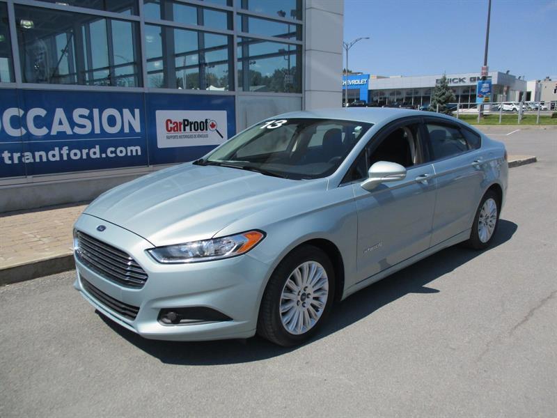 Ford Fusion 2013 SE Hybrid #1714151