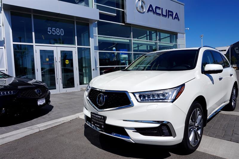 2017 Acura MDX SH-AWD 4dr Elite Pkg #796273A