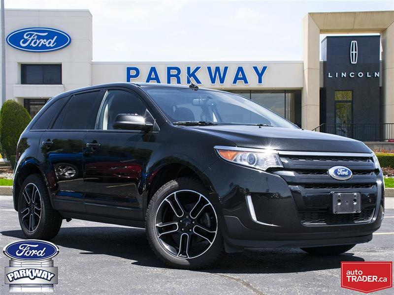 2014 Ford EDGE SEL FWD| GPS| BLUETOOTH| SUNROOF| HEATED SEATS #P9822