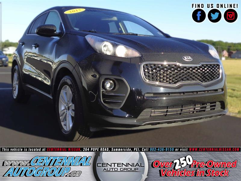 2017 Kia Sportage LX | FWD | LOCAL ONE OWNER #S17-037A