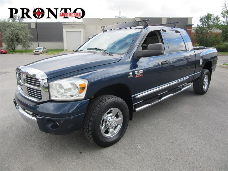 dodge ram 2500 4wd mega cab diesel 2008 occasion vendre laval chez pronto automobile. Black Bedroom Furniture Sets. Home Design Ideas