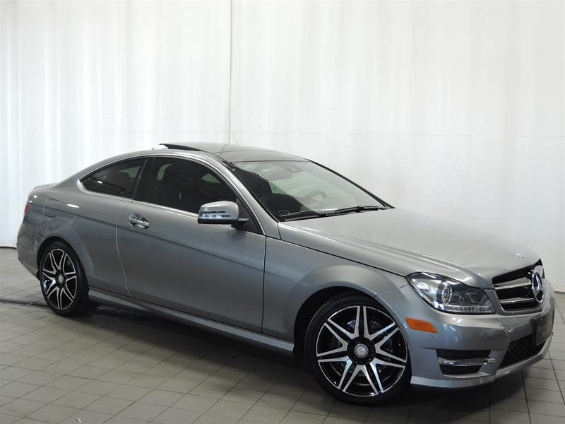 Mercedes-Benz C350 2014 4MATIC Coupe SPORT PACKAGE #U17-269