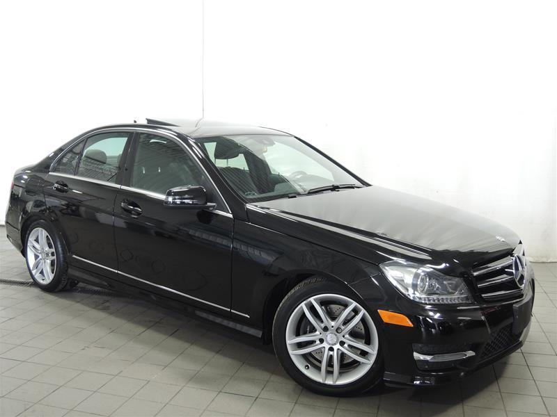 Mercedes-Benz C300 2014 4MATIC Sedan CERTIFIÉ 0.9% #U17-271