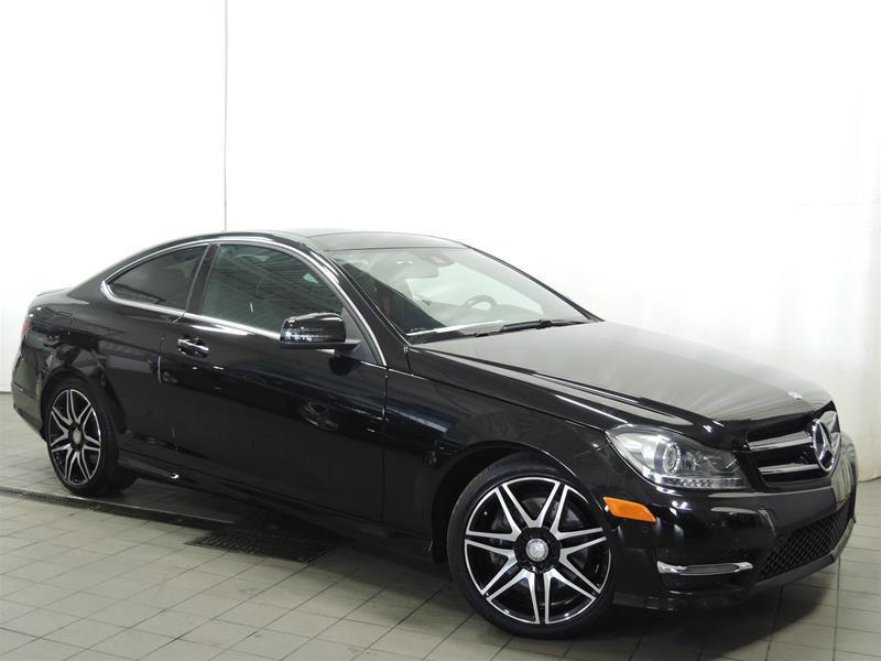 Mercedes-Benz C350 2015 4MATIC Coupe *SPORT PACKAGE* #U17-284