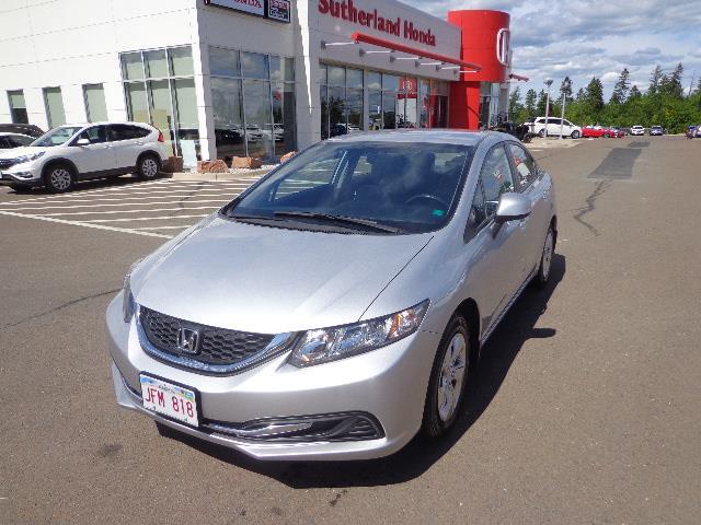 2013 Honda Civic Sdn 4dr Auto LX #DH033406A