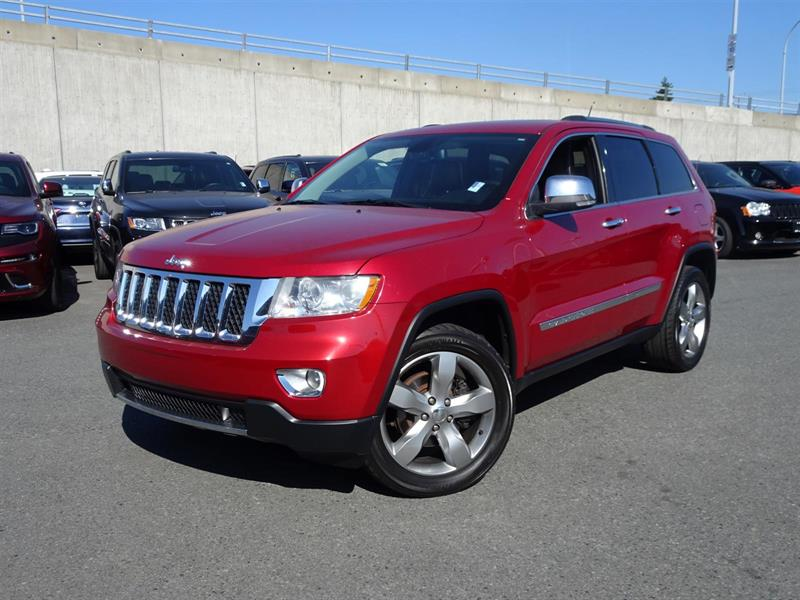 2011 Jeep Grand Cherokee Overland #17J139A