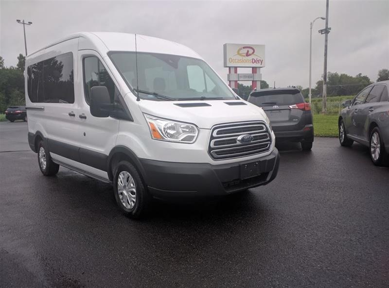 Ford Transit 2016 8 PLACES, GROUPE REMORQUAGE 5150 LBS. #COM-A5019
