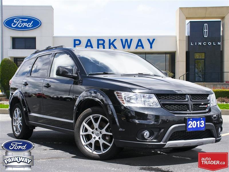2013 Dodge Journey R/T AWD  1-OWNER  NO ACCIDENTS  $160 BIWEEKLY #P9768