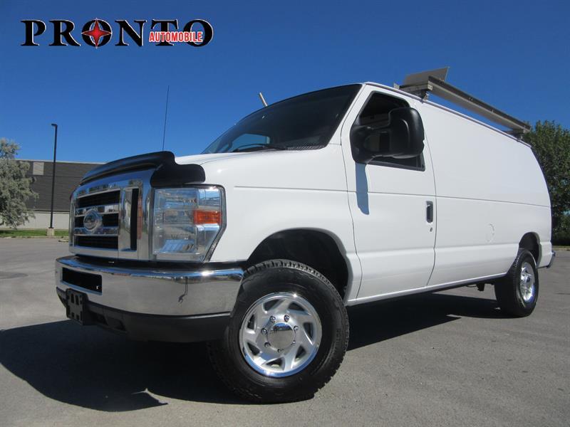 Ford Econoline Cargo Van 2013 E-350 Super Duty ** Rack à échelle ** #3419