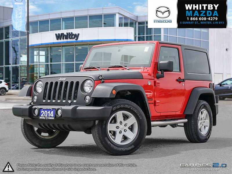 2014 Jeep Wrangler 4WD 2dr Sport #170481A