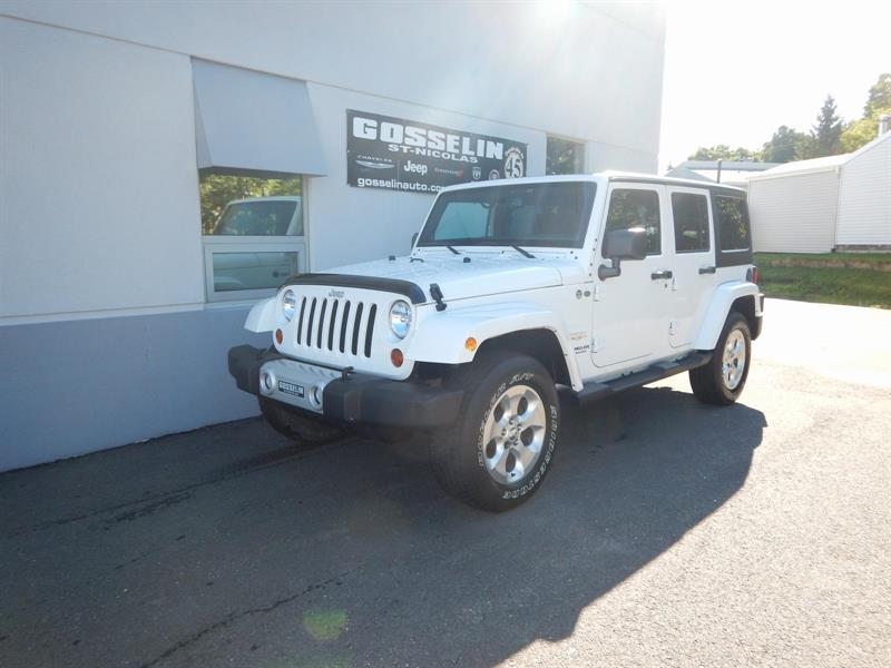 Jeep Wrangler Unlimited 2013 SAHARA #D3957C