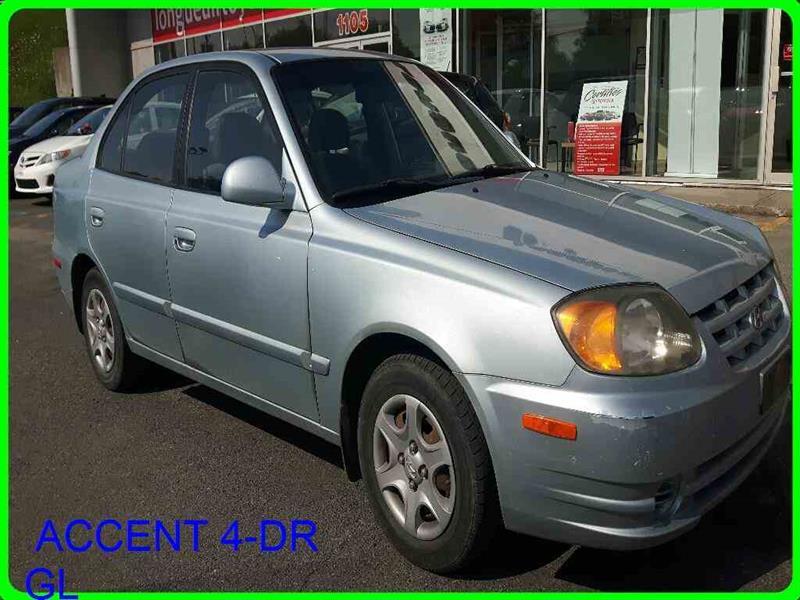 Hyundai Accent 2003 4-DR GL #370571B