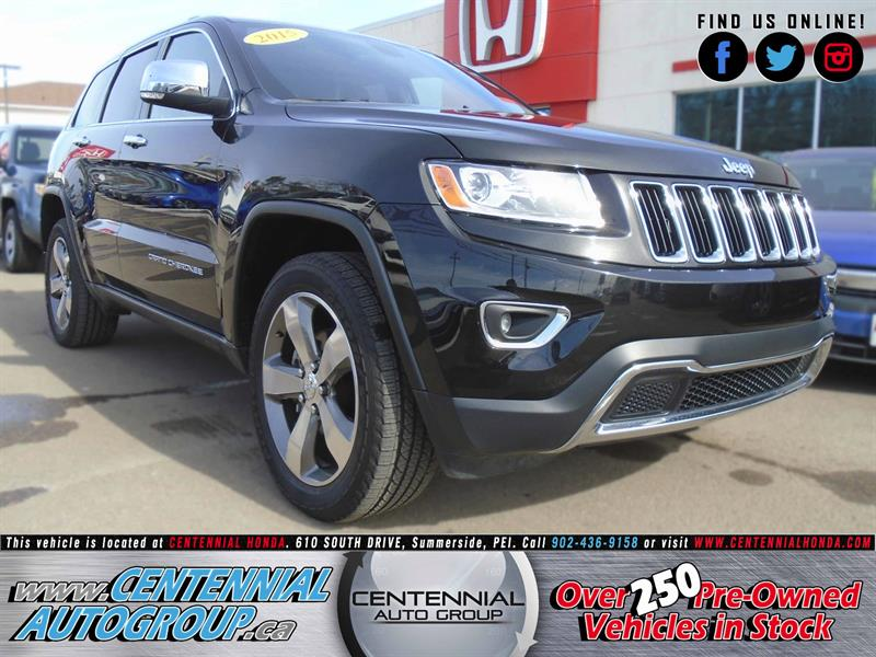 2015 Jeep Grand Cherokee Limited - 3.6L, V6, 4WD #U1489