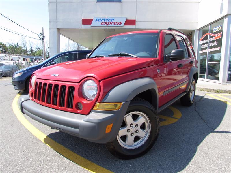 Jeep Liberty 2005 4dr Sport 4WD PAS CHÈRE SUPER PROPRE  #44098-1