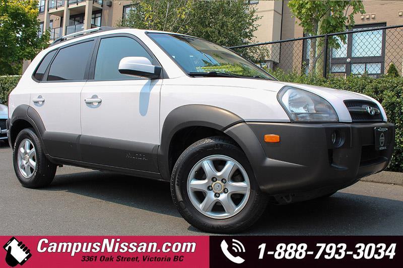 2005 Hyundai Tucson GL AWD #JN2572A